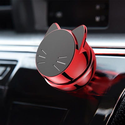 Universal 360° Rotatable Magnetic Cat Car Phone Holder-Mobile Phone Holders & Stands-FreakyPet