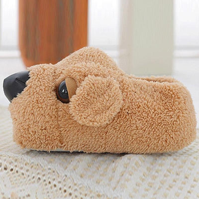 Cartoon Comfy Dog Slippers-Slippers-FreakyPet