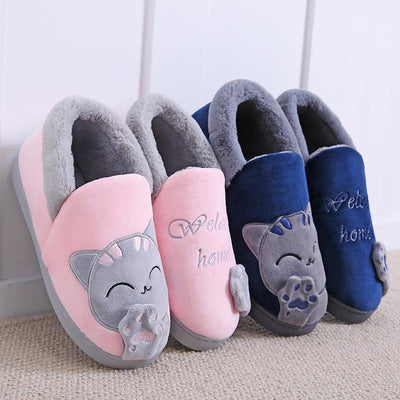 Plushy Soft Indoor Cat Boots-FreakyPet