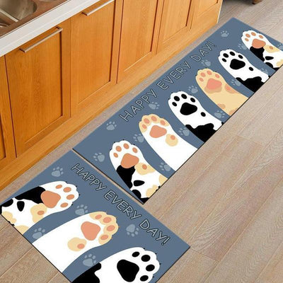 Soft Fleece Anti-Slip Cat Floor Carpets-FreakyPet