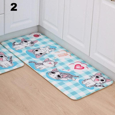 Cute Cat Anti Slip Doormats-FreakyPet