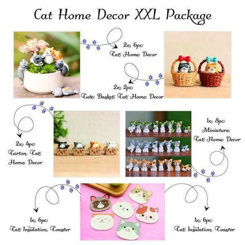 Cat home decor xxl package freakypet for Decoration xxl