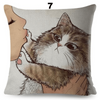 Dont kiss me Hoomin Cushion Cover-FreakyPet