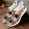 Kawaii Cat Prints Mesh Sneakers-FreakyPet