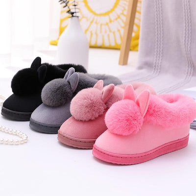 Cute Fluffy Pom Pom Boots-FreakyPet