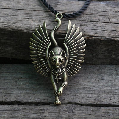 Ancient Egyptian Cat Necklace