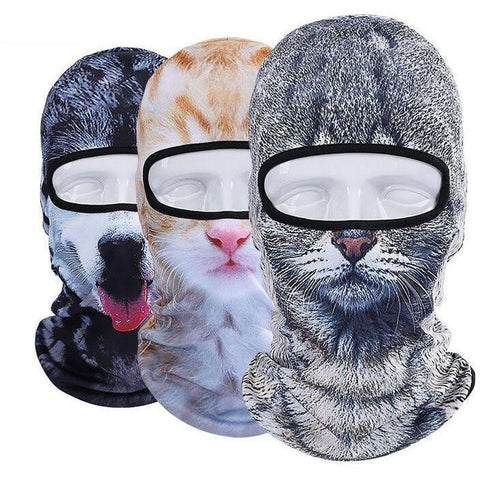 Dog & Cat Cycling/Motorbike Mask