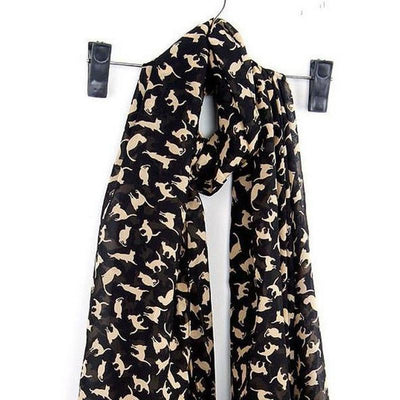 Classy Chandalay Cat Scarf-FreakyPet