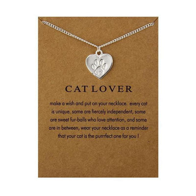 Love Your Cat Remembrance Necklace