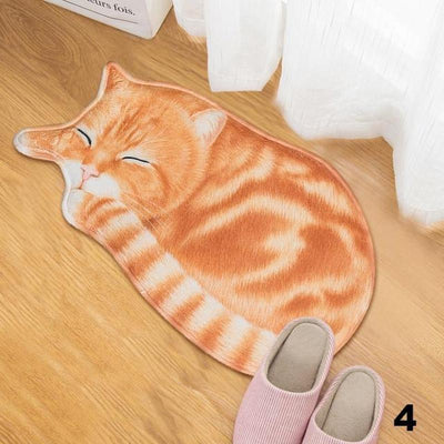 Cat Anti-slip Carpet Doormats-Mat-FreakyPet