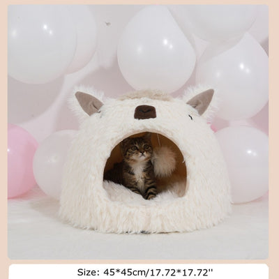 Cute Alpaca Shape Kitten Furniture-FreakyPet