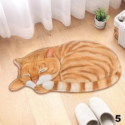 Cat Anti-slip Carpet Doormats