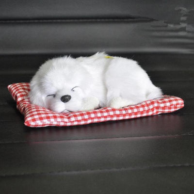 Sleeping Dog Plush Toy-Stuffed & Plush Animals-FreakyPet