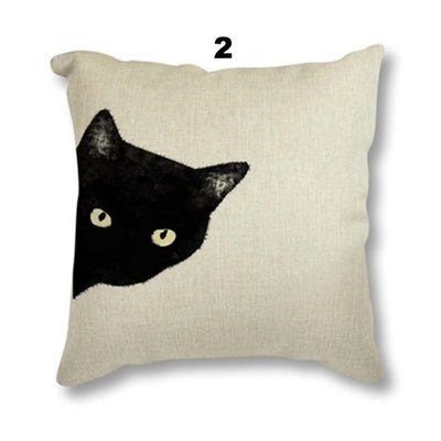 Beautiful Black Cushion Cat Cover Machine Washable