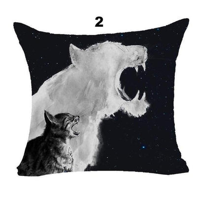 Lovely Cute Cat Pillow Decor Cases