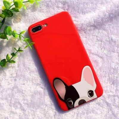 Cute Bulldog iPhone Case