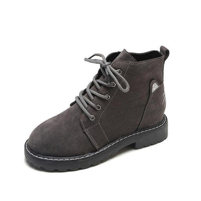 Sweet Cat Ankle Martin Boots-FreakyPet