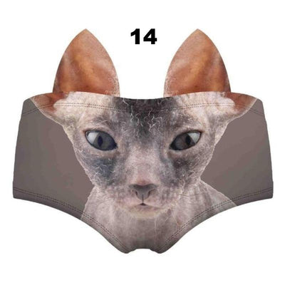Cheeky Ears Animal Underwear-FreakyPet