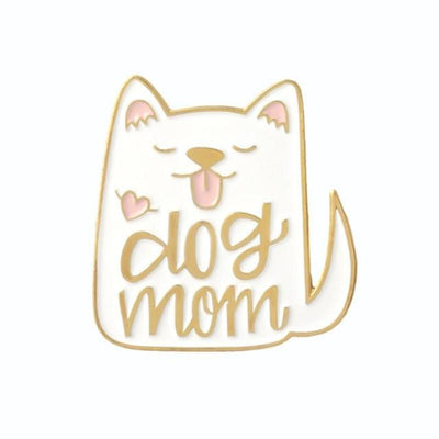 Dog Mom Cat Lady Brooches-Brooches-FreakyPet