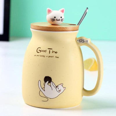 kitty cat coffee mugs