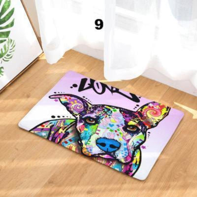 Colorful Dog Anti-slip Rug