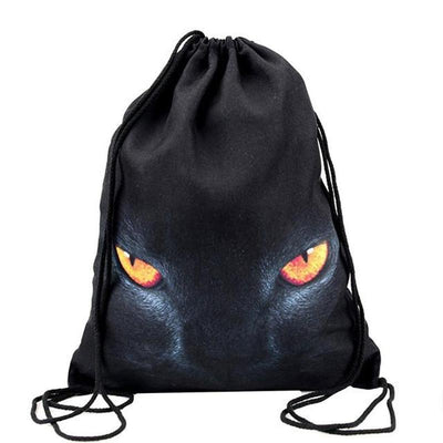 3D Cat Drawstring Bag-Home-FreakyPet