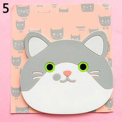 Cat Silicone Insulation Coaster (Secret Discount)-Mats & Pads-FreakyPet