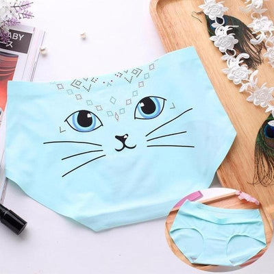 Sexy Cotton Cat Panties-Briefs-FreakyPet