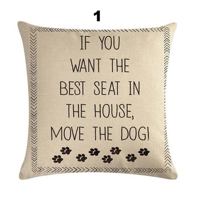 Sweet Letter Cushion Cover-FreakyPet