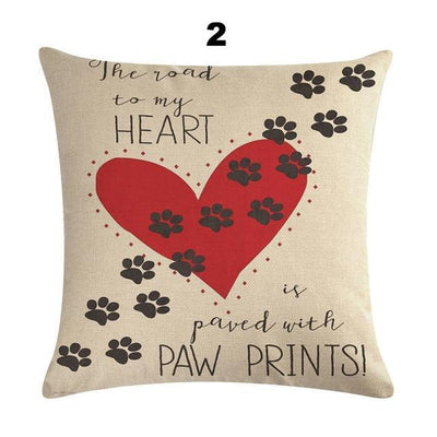 Sweet Letter Cushion Cover-Cushion Cover-FreakyPet