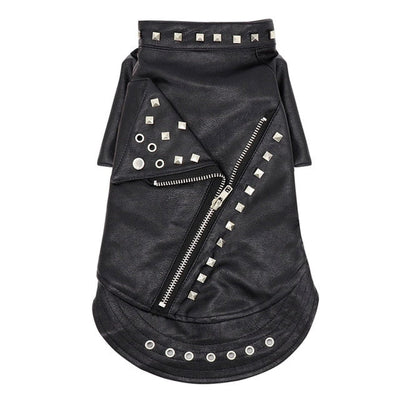 Punk Cat Leather Jacket