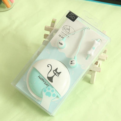 Cute Cat EarPhones-Earphones & Headphones-FreakyPet
