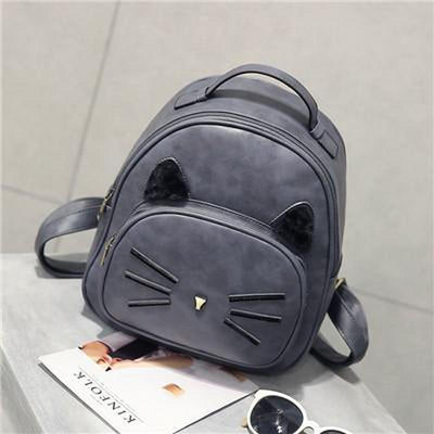 Elegant Shoulder Leather Cat Bag-Backpacks-FreakyPet