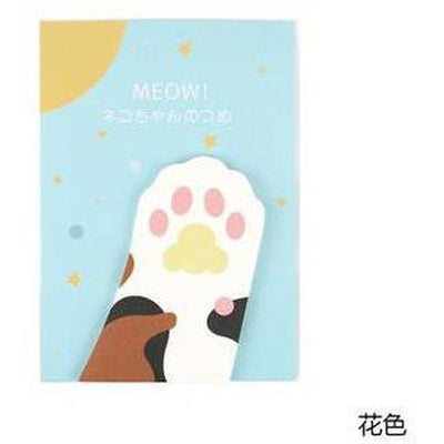 Meow Cat Paw Memo Sticker-Home-FreakyPet