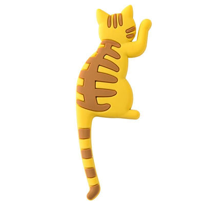 Cute Cat Tail Hook Magic Touch Magnets-Fridge Magnets-FreakyPet