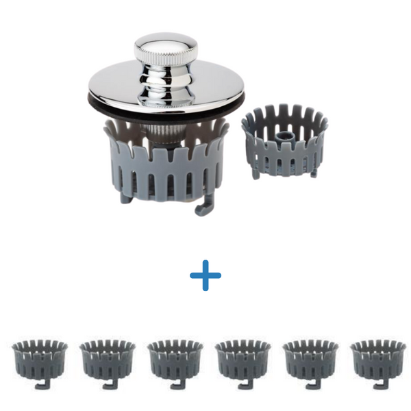 Deluxe Tub + 6 Pack Replacement Bundle