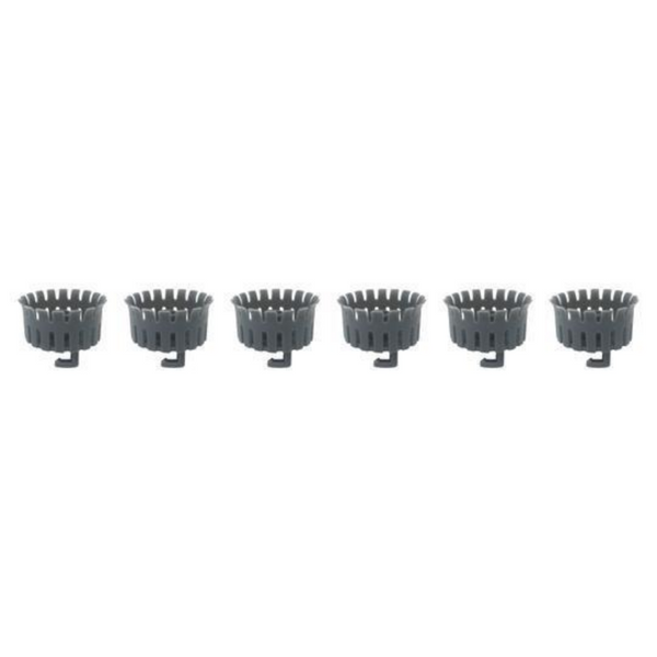 6-Pack Replacement Baskets for Drain Buddy™ Bathtub