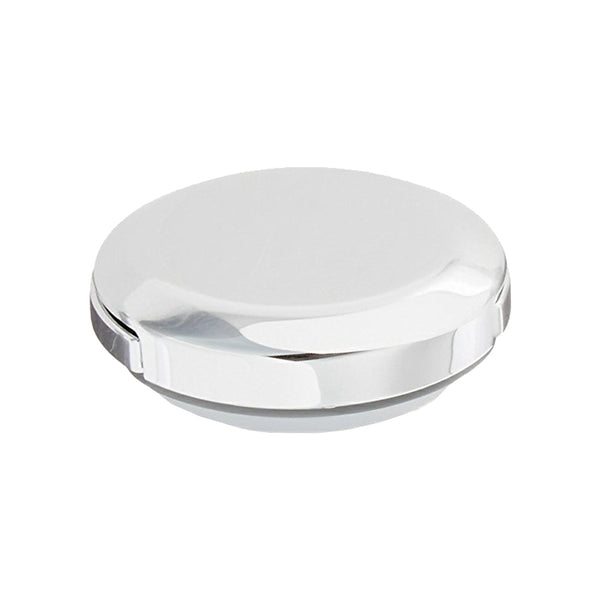 Chrome Sink  Drain Strain® Drain Stopper | Replacement Plastic Cap