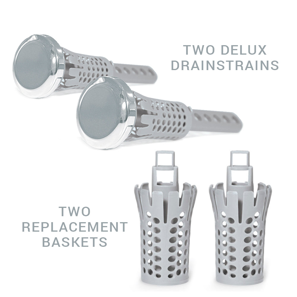 Chrome Sink Drain Strain 2 Pack 2 Basket Special Drain