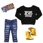 JESUS EVERYDAY || SWEATSHIRT