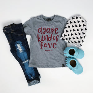 AGAPE KIND OF LOVE || GREY