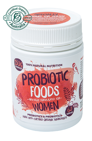 Probiotic Foods  - ESpecially for Women 150g (60 serves)