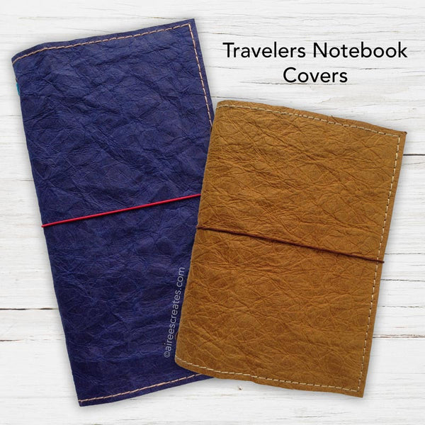 Vegan Traveler's Notebook Covers (for orders outside the Philippines)