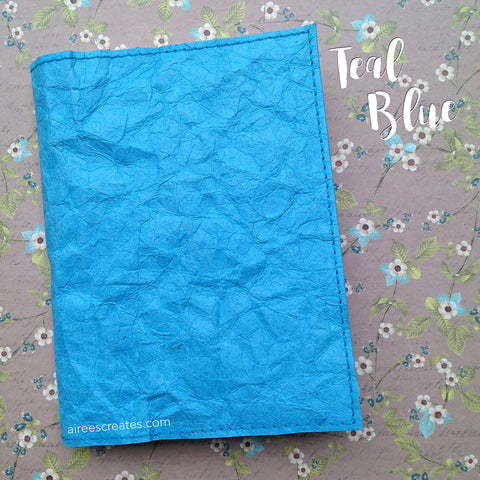 A6 Gutsy® Cover for Hobonichi - Teal Blue