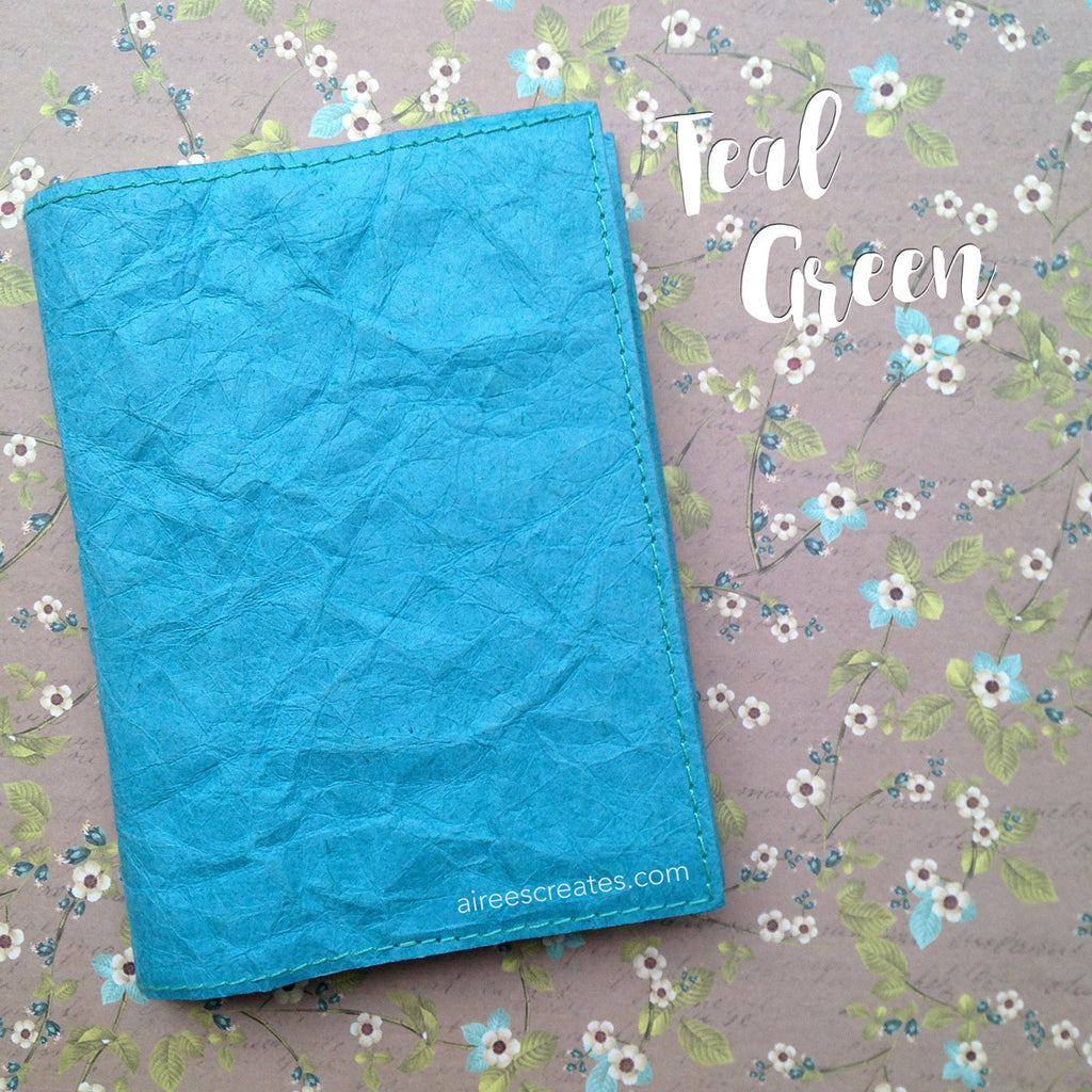 A6 Gutsy® Cover for Hobonichi - Teal Green