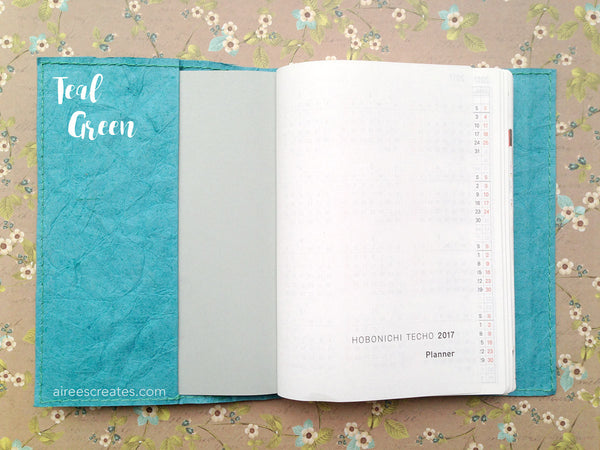 A6 Gutsy® Cover for Hobonichi - Camello