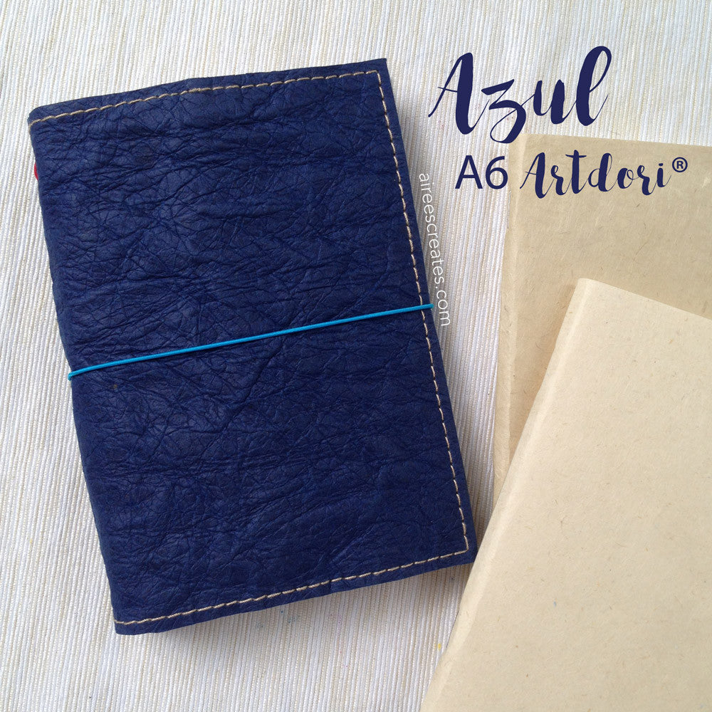 A6 ArtDori® - Gutsy® Travelers Notebook COVER ONLY (Azul)