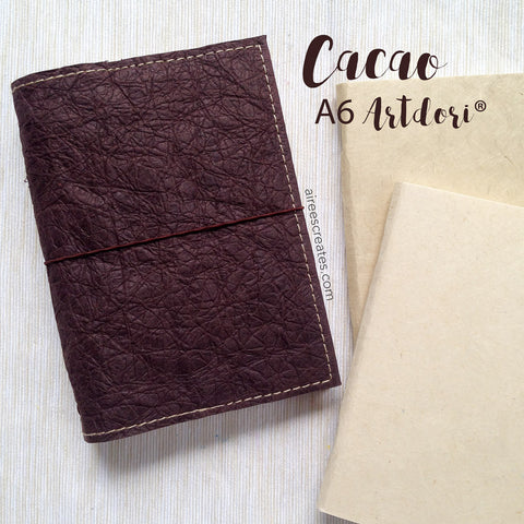 A6 ArtDori® - Gutsy® Travelers Notebook COVER ONLY (Cacao)