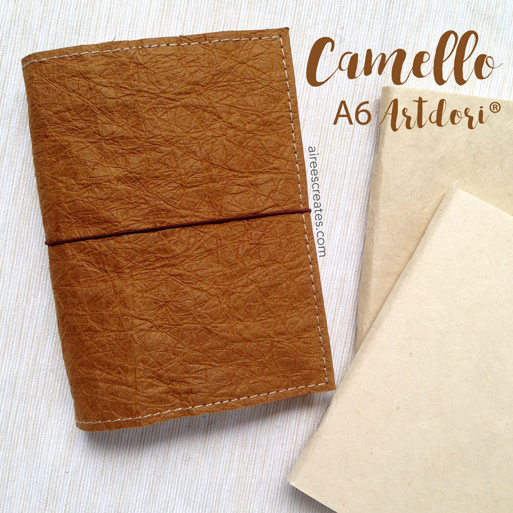 A6 ArtDori® - Gutsy® Travelers Notebook COVER ONLY (Camello)