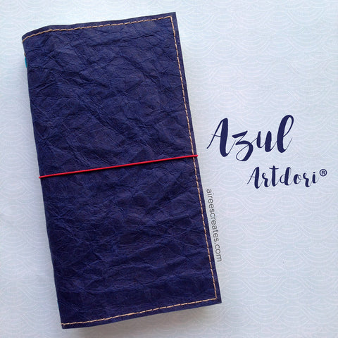 ArtDori® - Gutsy®  Travelers Notebook COVER ONLY (Azul)
